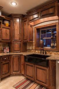 Kitchen Console Cabinet Best 25 Rustic Kitchen Cabinets Ideas On