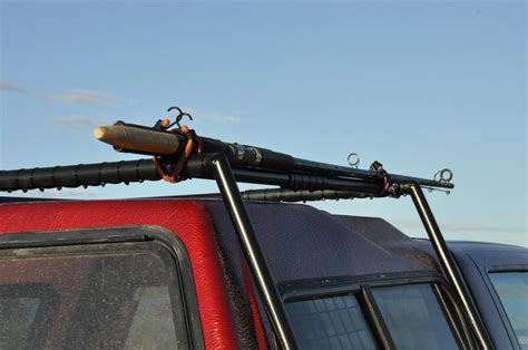 Roof Rack For Fishing Rods by Fishing Rods On The Roof Rack