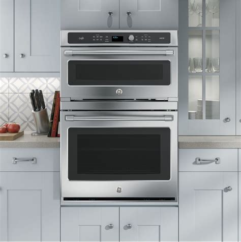 Wall Oven ge ct9800shss 30 inch built in combination wall oven with