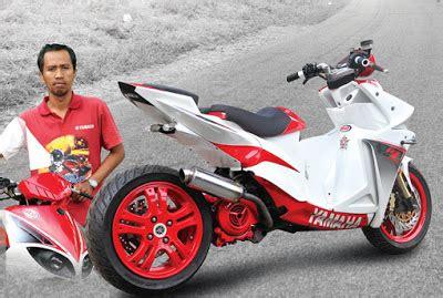 Modif Mio Sporty Balap by Batugede Inc Modifikasi Yamaha Mio Keren Dan Mantab Gan