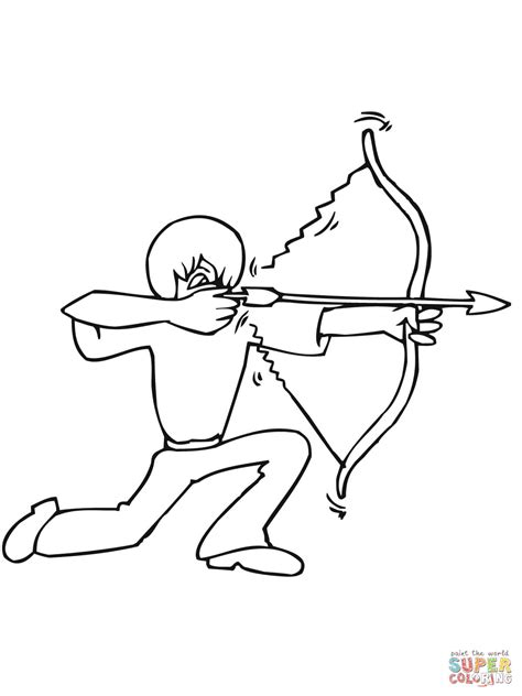 bow hunter coloring page luxury bow hunting coloring pages composition framing