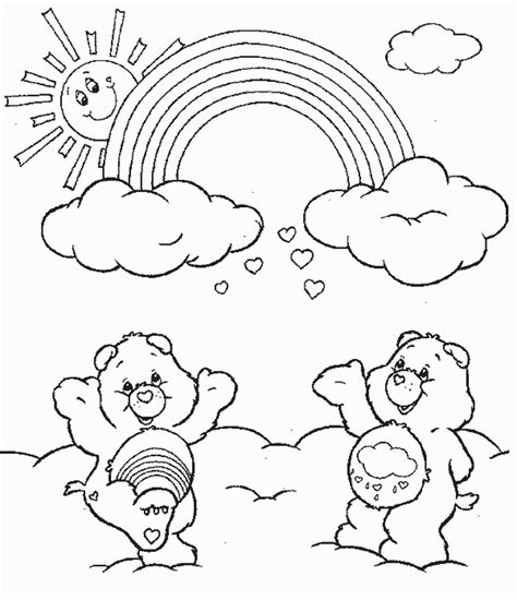 Care Bears Coloring Pages Learn To Coloring Caring Coloring Pages