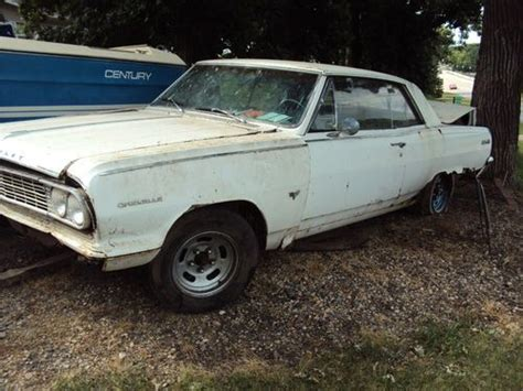 find used 1964 chevrolert chevelle malibu ss white 2 door