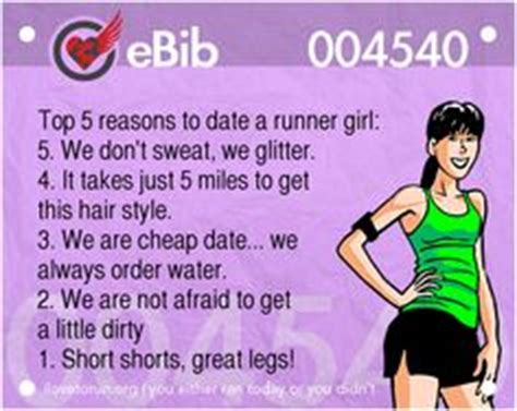 5 Reasons To Not Date by Top 5 Reasons To Date A Runner 5 We Don T Sweat We
