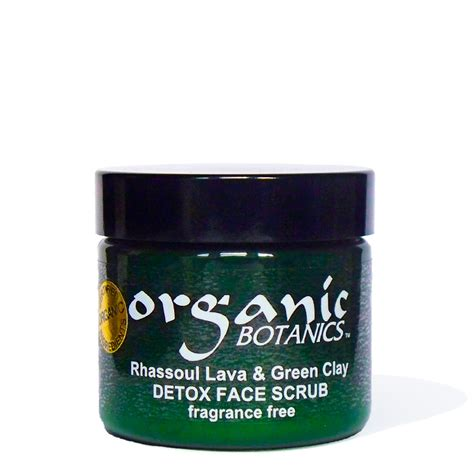 Detox Excess Copper by Organic Detox Scrub Rhassoul Lava Green Clay