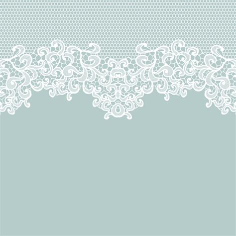 lace pattern vector art white lace with colored background vector set 04 vector