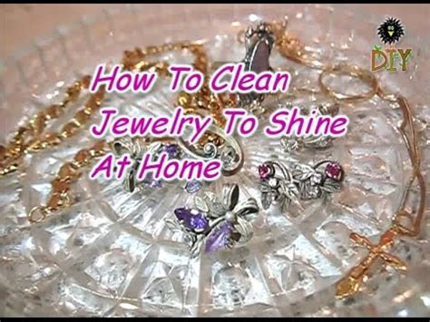 how to clean jewelry to shine at home remedies