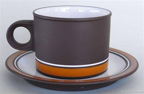 Cup And Saucer 225ml hornsea contour 225ml cup saucer martin hunt 1978 79