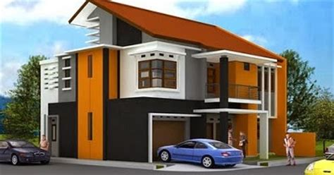 Harga Cat Tembok Merk Sanlex kombinasi warna cat tembok orange yang indah cantik dan
