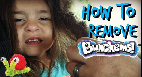 How To Remove Hair From by How To Remove Bunchems From Hair