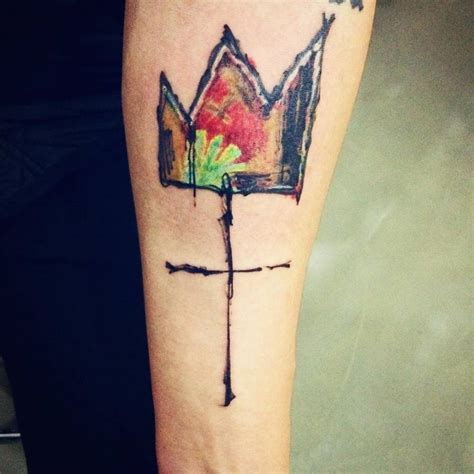 basquiat crown tattoo a tattoos gallery and tatting