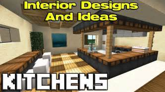 minecraft kitchen designs youtube