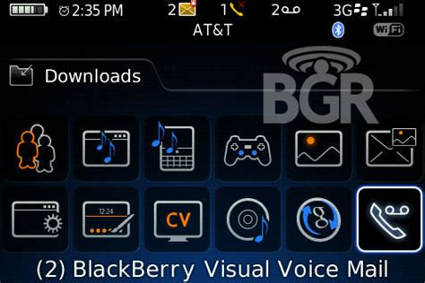 reset voicemail password on blackberry blackberry visual voicemail screenshots surface