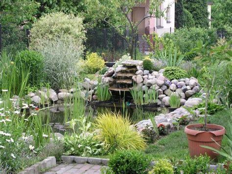 Garten Stufen Anlegen by Teich Mit Bachlauf Garten Teich Bachlauf Garten Stufen