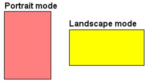 Landscape Printing Definition Landscape Format Article About Landscape Format By The