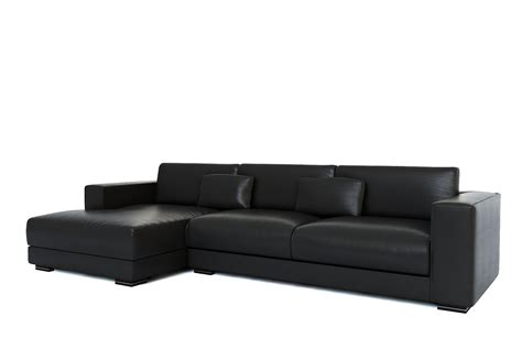 black leather sleeper couch small black leather sectional sofa black leather small