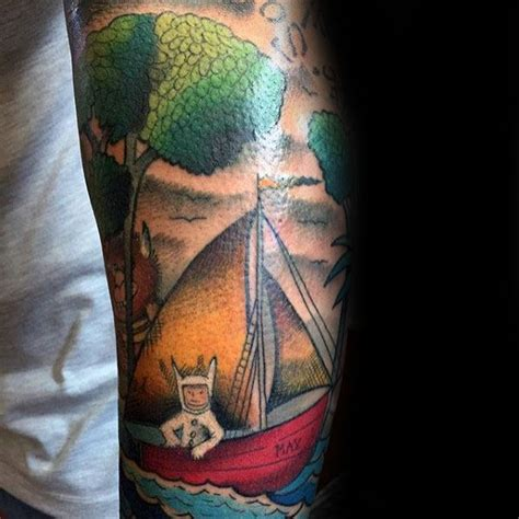 where the wild things are sailboat 40 where the wild things are tattoo designs for men book