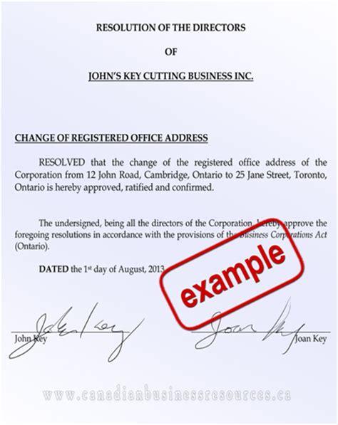Directors Resolution Shareholders Resolutions Shareholder Resolution Template