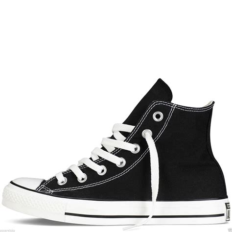 Converse All Unisex 10 converse all hi tops mens womens unisex high tops chuck trainers ebay