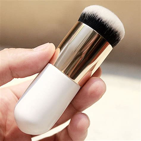 Gratis Ongkir Kuas Aplikator Make Up Alumunium brush make up blush on foundation white jakartanotebook