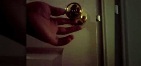 Picking A Door Knob Lock by How To A Door Knob Lock With A Tension Wrench Lock