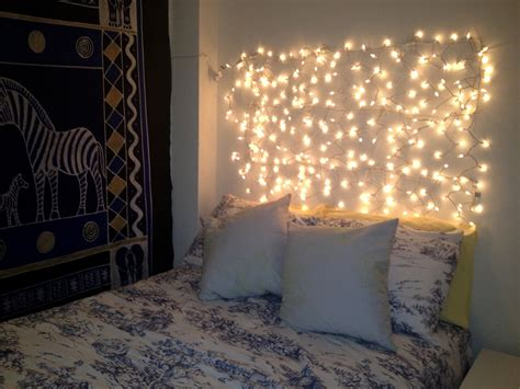 how to hang a headboard without nails christmas light decorations ideas for bedroom