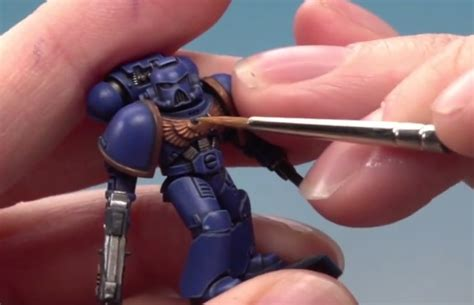 Workshop Painting Tutorial How To Paint An Ultramarine