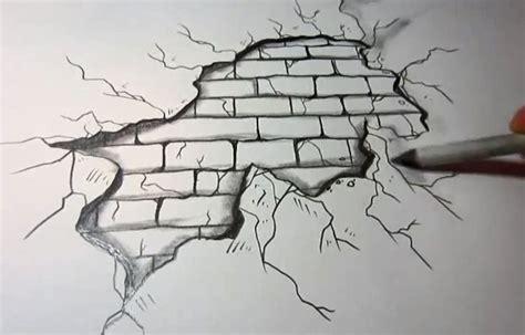 pen tattoo tutorial brick wall through paper drawing in pen arte pinterest