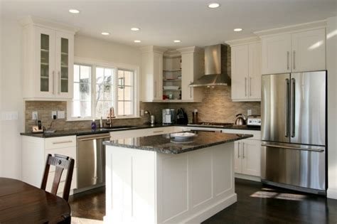 cuisine toute blanche cuisine blanche et inox id 233 es et astuces en 90 photos