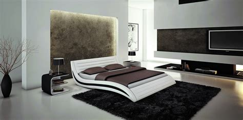 modern king size platform bedroom sets bugatti king size modern style leather platform bed