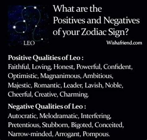 image gallery leo horoscope traits