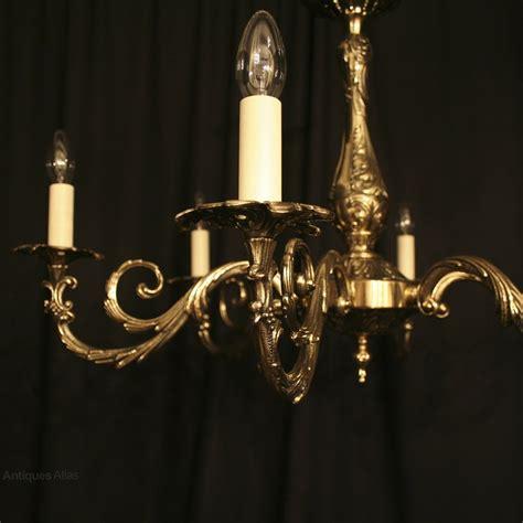 antique italian chandeliers antiques atlas an italian cast brass 6 light antique