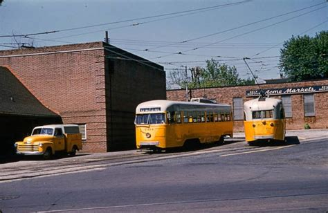 baltimore walbrook junction pullman pcc streetcars