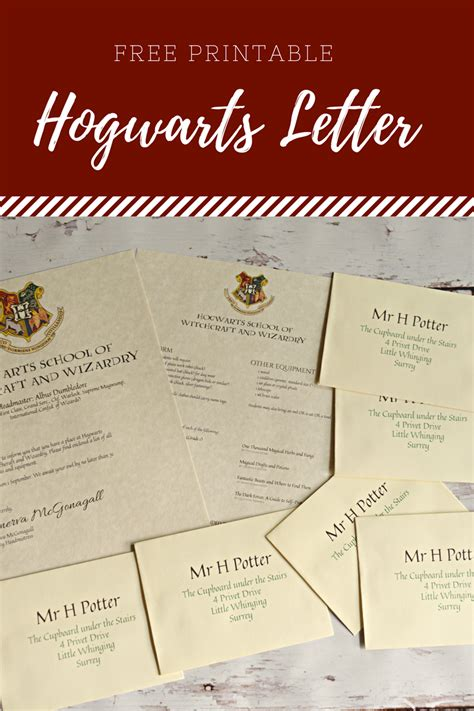 printable hogwarts letter housewife eclectic