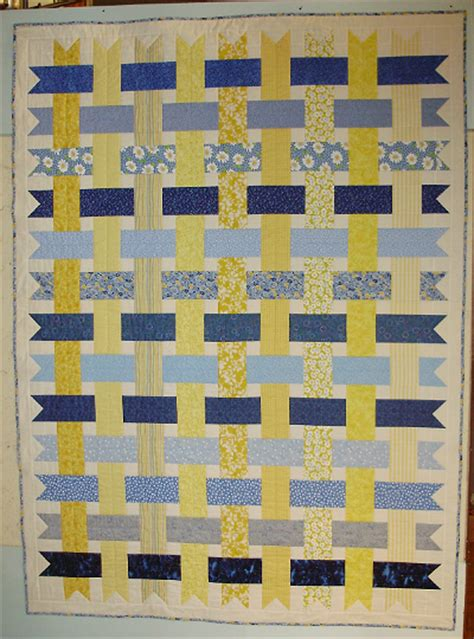 Choosing Quilt Colors by Weave Two Favorite Colors Into A Quilt Quilting Digest