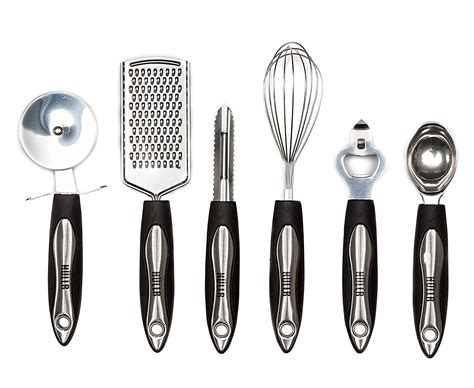 All In One Kitchen Tool Set by Hullr 25 Piece Kitchen Utensils Set All Purpose Kitchen