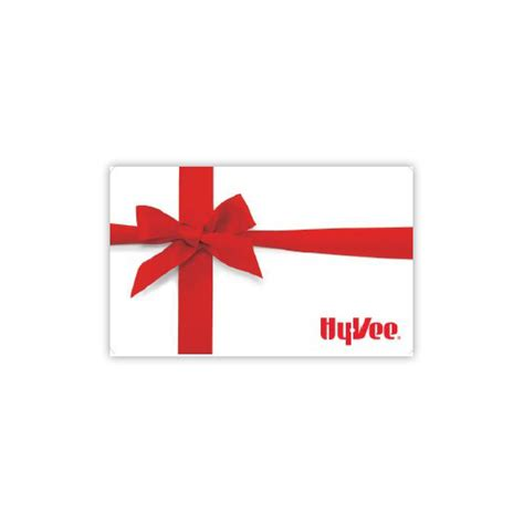 Hyvee Gift Card - shop gifts hy vee gift cards hy vee gift card red bow presents 41957