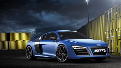 audi r8 wallpaper blue 2013 blue audi r8 v10 plus wallpaper car wallpapers 52411