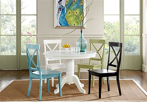 dining room sets with colored chairs marceladick