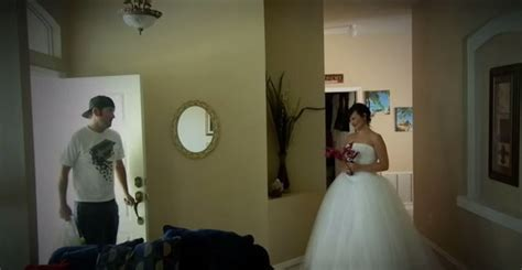 Husband Came Home To His Wife Wearing Her Wedding Dress