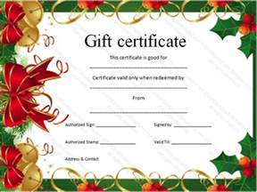 template for gift certificates gift certificate template certificate templates