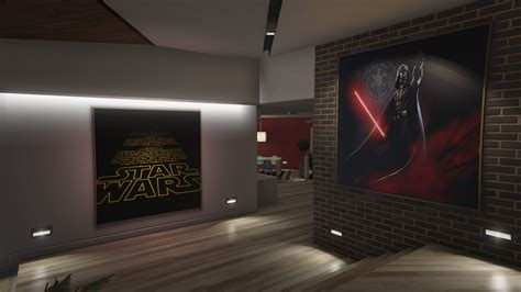 star wars interior design star wars posters for franklin s house gta5 mods com