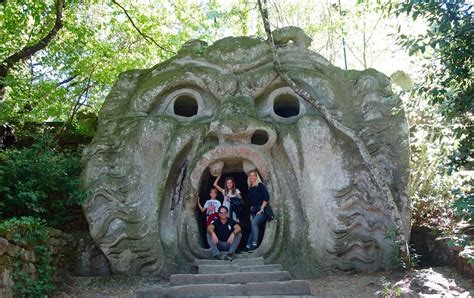 giardino dei mostri viterbo parco dei mostri di bomarzo fra mistero e fantasia