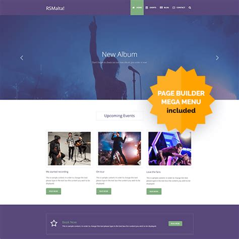 Joomla Template joomla templates joomla 3 x templates by rsjoomla