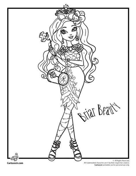 ever after high logo coloring pages get this ever after high coloring pages for girls vbn87