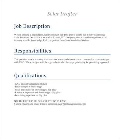 layout drafter job description drafter job descriptions 9 free word excel pdf format