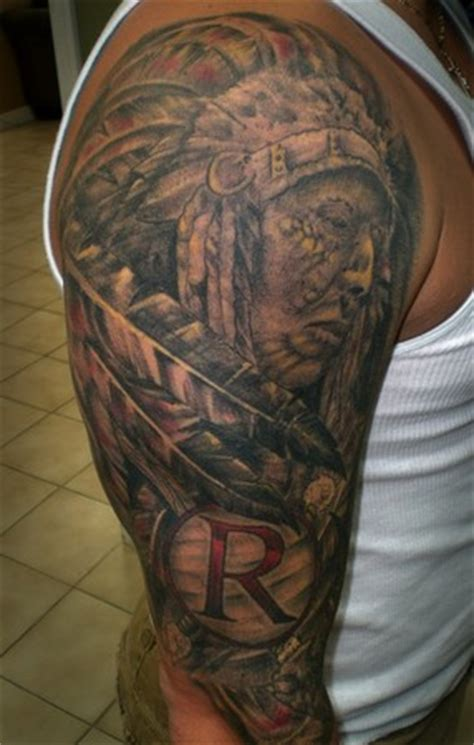 redskins tattoo redskins ideas ideas pictures