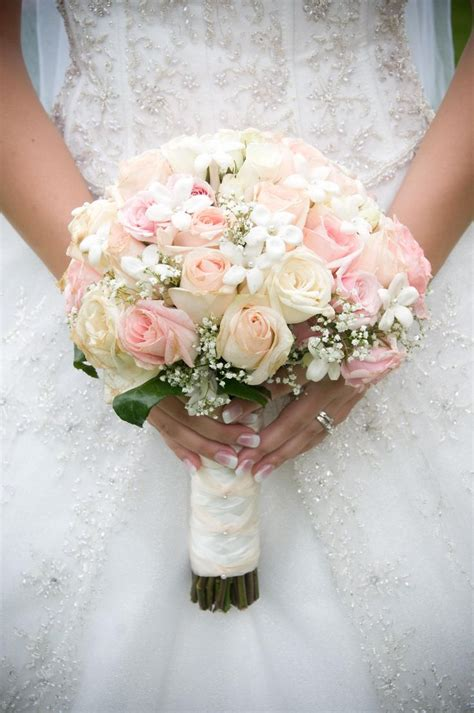 Wedding Flowers Roses by Pink And White Roses Bridal Bouquet Wedding Favorites