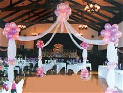 Unique party and dance floor decor arches and canopies