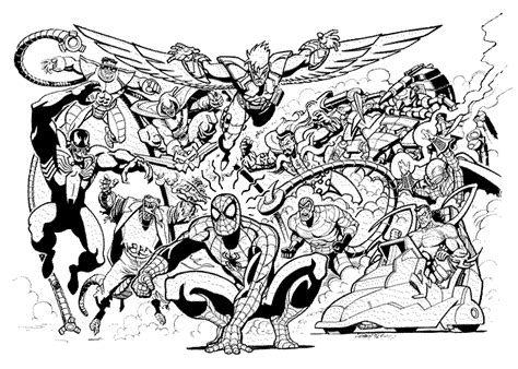marvel adventures coloring pages print download spiderman coloring pages an enjoyable